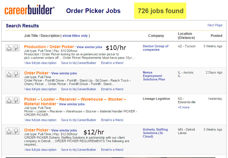 7 Reasons Why Great Order Picking Staff might be Hard to Find