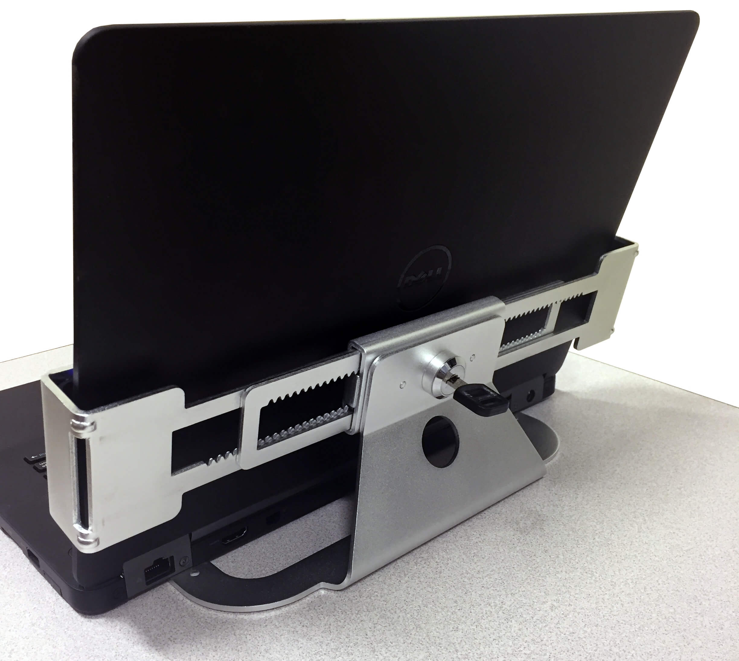 B114 Laptop Security Bracket for NB & RC Series Mobile Powered Workstations by Newcastle Systems