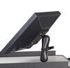 "B116 Surface Mounted Flat Screen Holder 7"" Arm for NB, PC & RC Series Mobile Powered Workstations by Newcastle Systems"