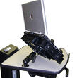 "B112 Laptop / Tablet Holder with 7"" Arm for NB, PC & RC Series Mobile Powered Workstations by Newcastle Systems"