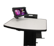 B111 Mini Tablet Holder for NB, PC & RC Series Mobile Powered Workstations by Newcastle Systems