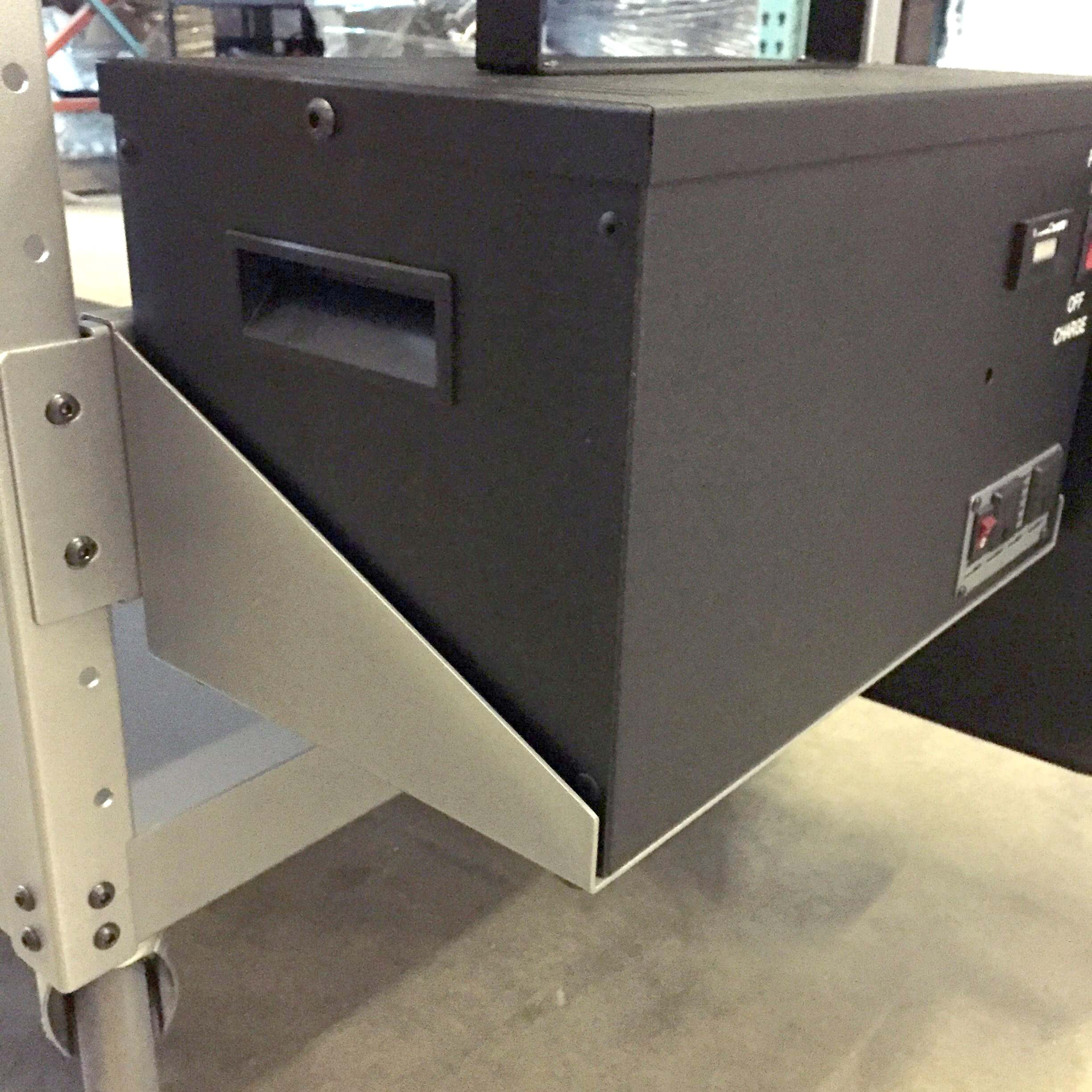 B304 Battery Box Plate for PowerPick Series Mobile Picking Carts by Newcastle Systems