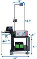 Atlas Series Mobile Dimensioning Stations by Newcastle Systems