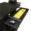 B107 Heavy Duty Keyboard and Mouse Tray for NB & PC Series Workstations by Newcastle Systems