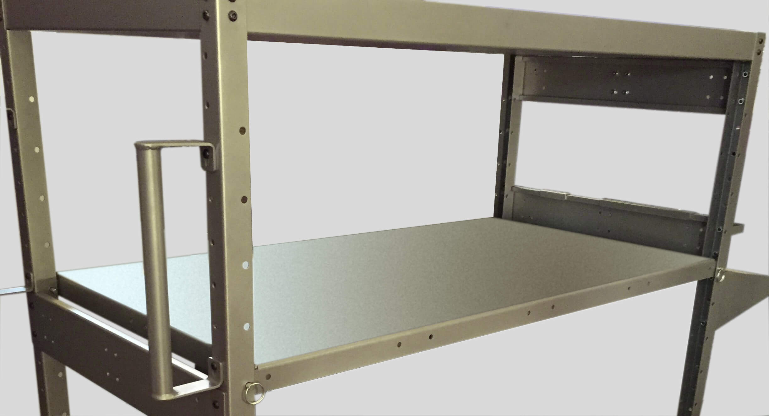 """B301 Optional 48"""" Shelf for PowerPick Series Mobile Picking Carts by Newcastle Systems"""