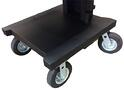 "C245 8"" Rugged Wheels for NB & PC Series Mobile Powered Workstations by Newcastle Systems"