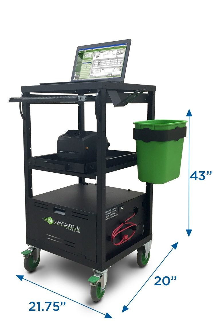 EcoCart Entry-Level Workstation by Newcastle Systems