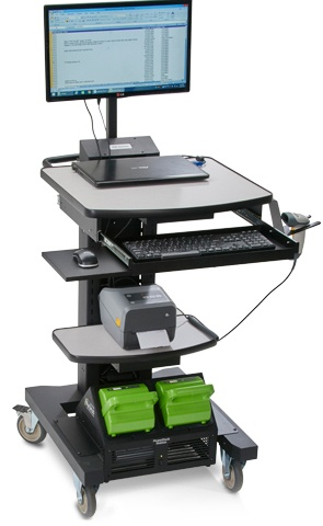 NB Series Mobile Powered Receiving Station with Nucleus Lithium Power System