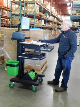 Direct Relief Receiving Cart
