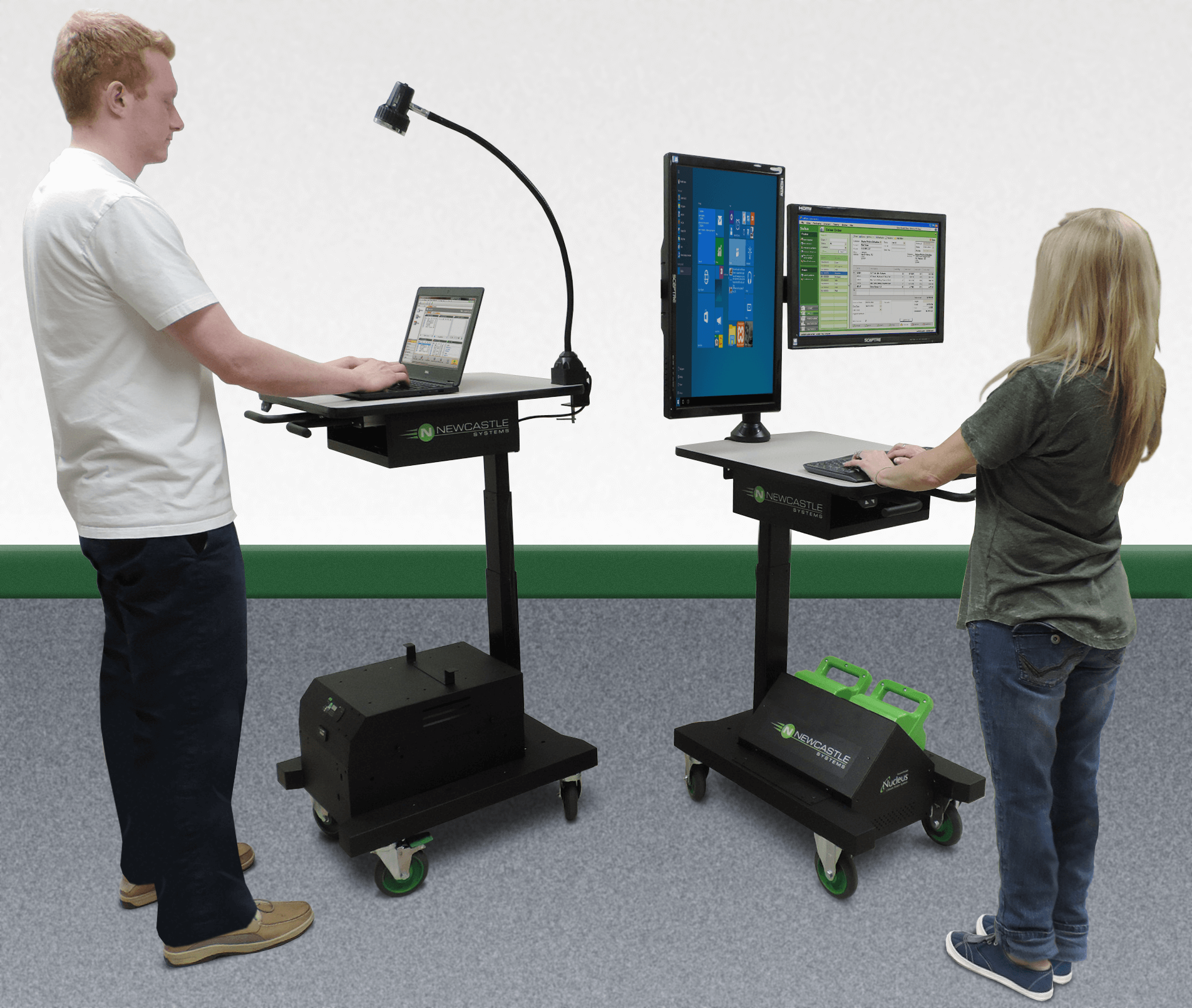 Newcastle Systems Introduces the APEX Series Ergonomic Workstation