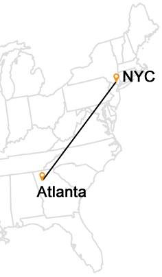 NYC to Atlanta