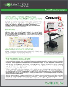 Fulfilling the Promise of Paperless Manufacturing with Mobile Workstations