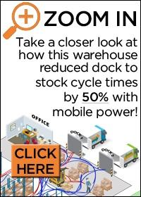 Take a closer look at how this warehouse reduced dock to stock cycle times by 50% with mobile power!